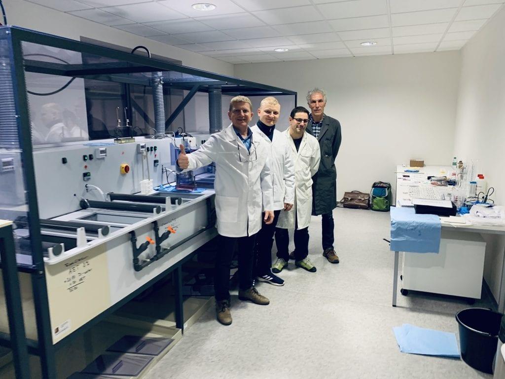Prodenta3D technologinis centras įdiegė Voietijoje pagamintą galvanizacijos laboratoriją